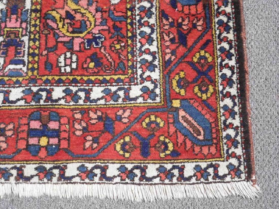 Handmade Four Seasons Design Semi Antique Persian - 3