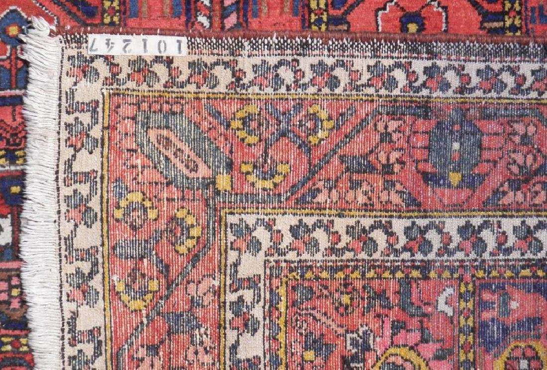 Handmade Four Seasons Design Semi Antique Persian - 4