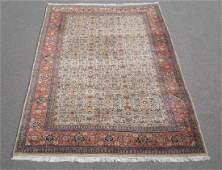 Absolutely Captivating Semi Antique Persian Tabriz 7x10