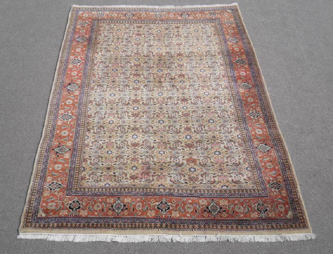 Absolutely Captivating Semi Antique Persian Tabriz 7x10