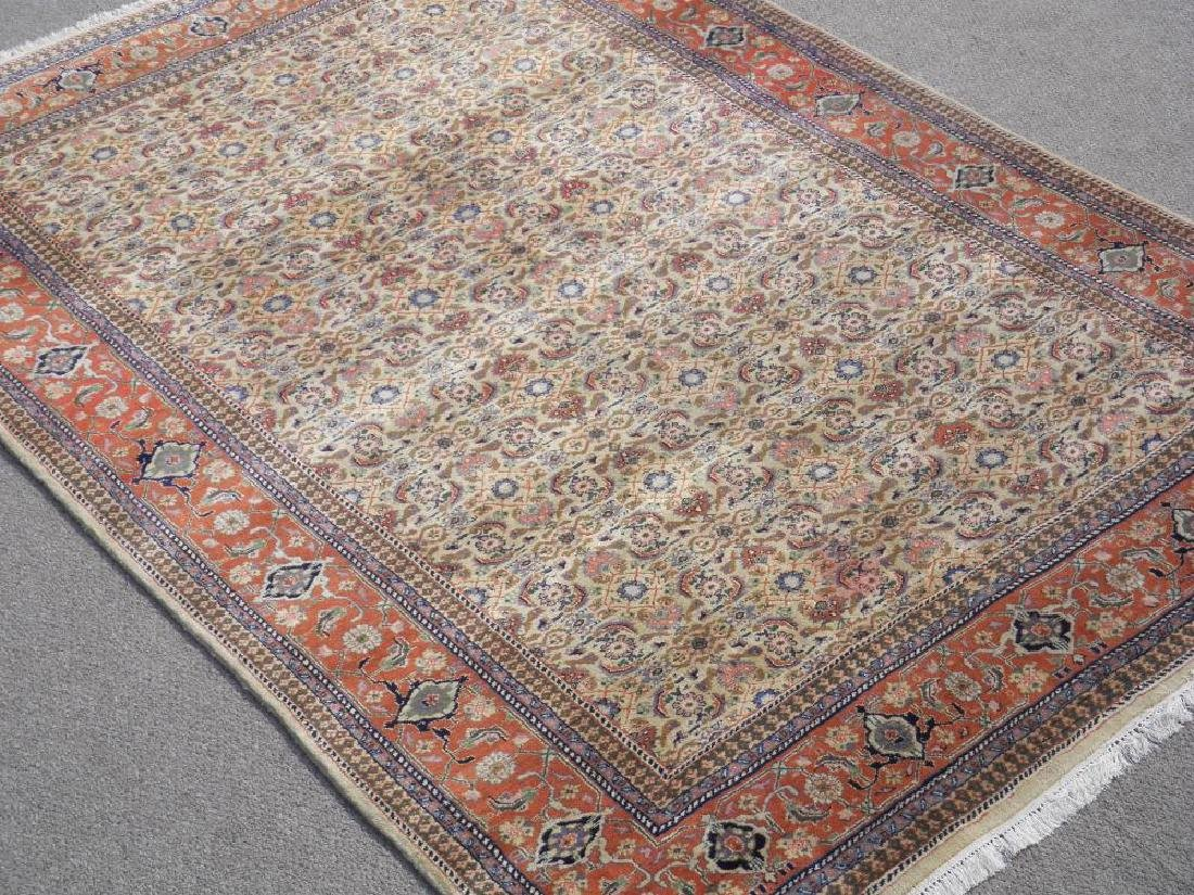 Absolutely Captivating Semi Antique Persian Tabriz 7x10 - 2
