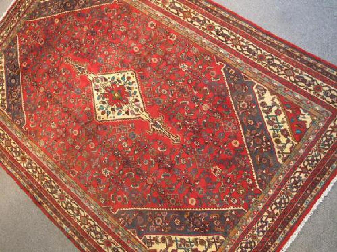 Simply Stunning Semi Antique Persian Hosseinabad 7x11 - 2