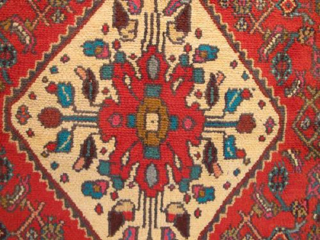 Simply Stunning Semi Antique Persian Hosseinabad 7x11 - 4
