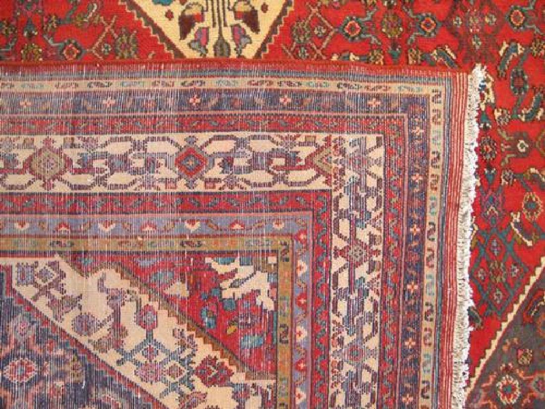 Simply Stunning Semi Antique Persian Hosseinabad 7x11 - 5