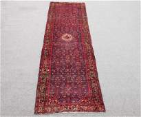 High Quality Semi Antique Persian Malayer Rug 4x13
