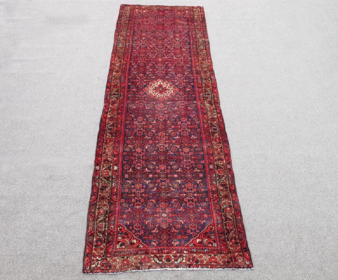 High Quality Semi Antique Persian Malayer Rug 4x13