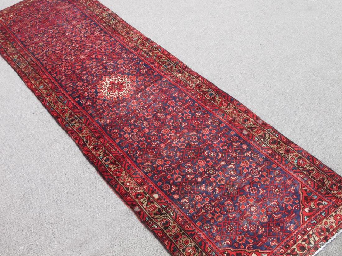 High Quality Semi Antique Persian Malayer Rug 4x13 - 2