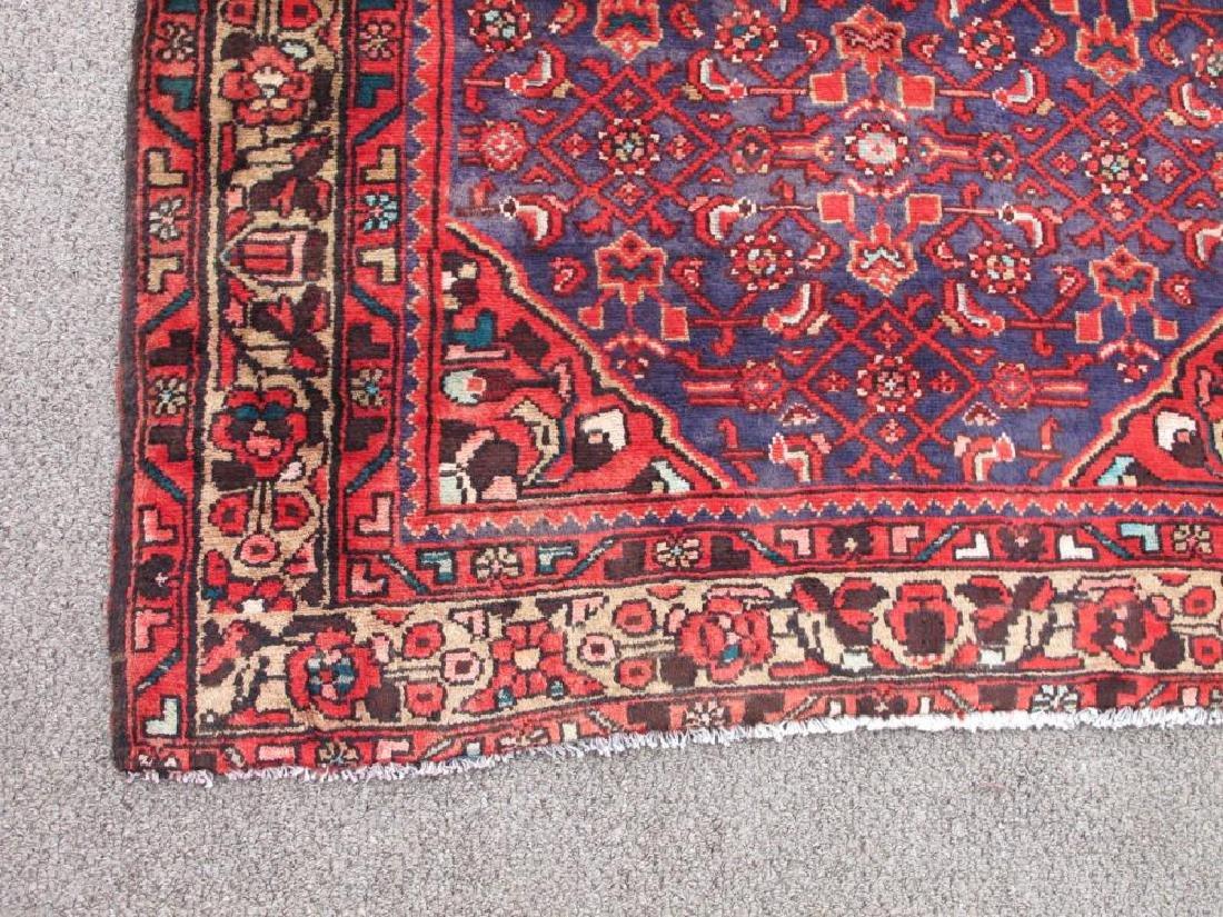 High Quality Semi Antique Persian Malayer Rug 4x13 - 3
