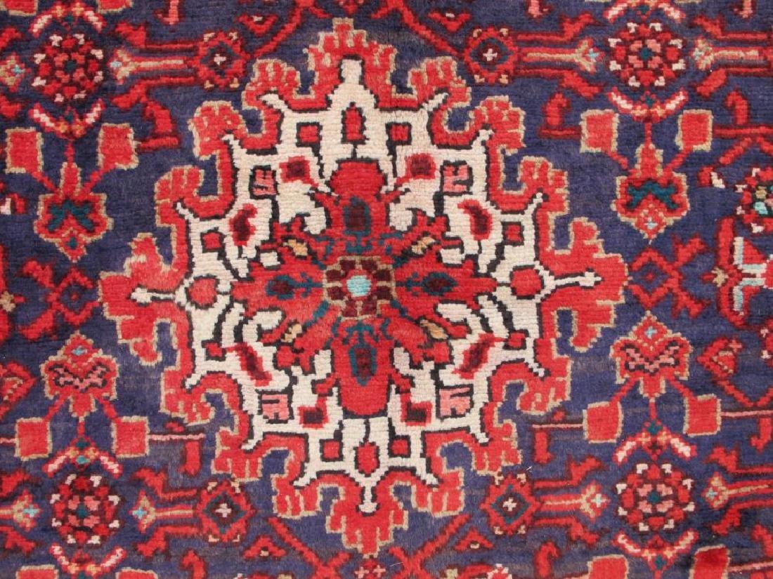 High Quality Semi Antique Persian Malayer Rug 4x13 - 4