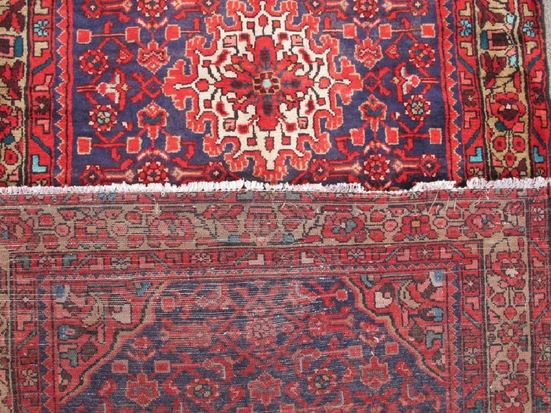 High Quality Semi Antique Persian Malayer Rug 4x13 - 5