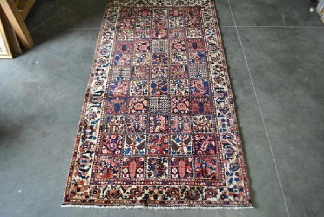 Finely Done Hybrid Design Persian Bakhtiari Runner