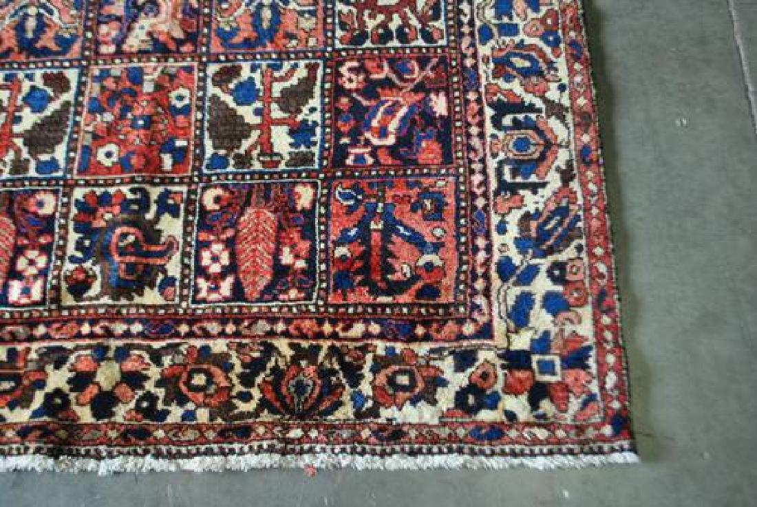 Finely Done Hybrid Design Persian Bakhtiari Runner - 3