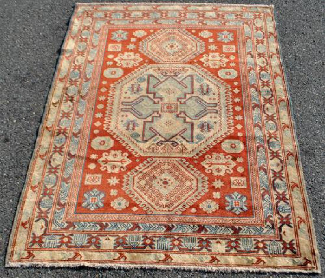 Beautiful Handmade Russian Rug 6.6x4.10