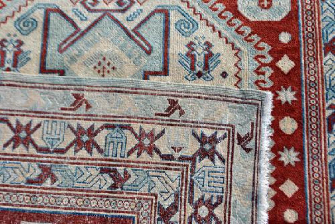 Beautiful Handmade Russian Rug 6.6x4.10 - 5