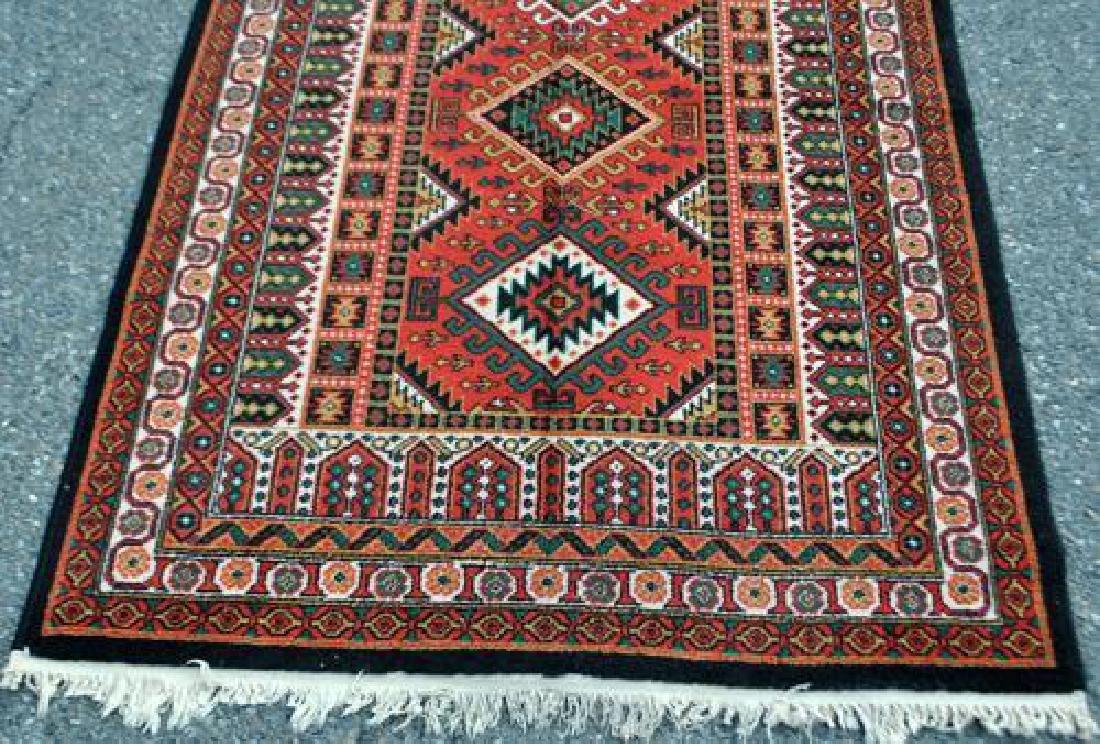 Bold Hand Woven Persian Karajeh 4x6 - 3
