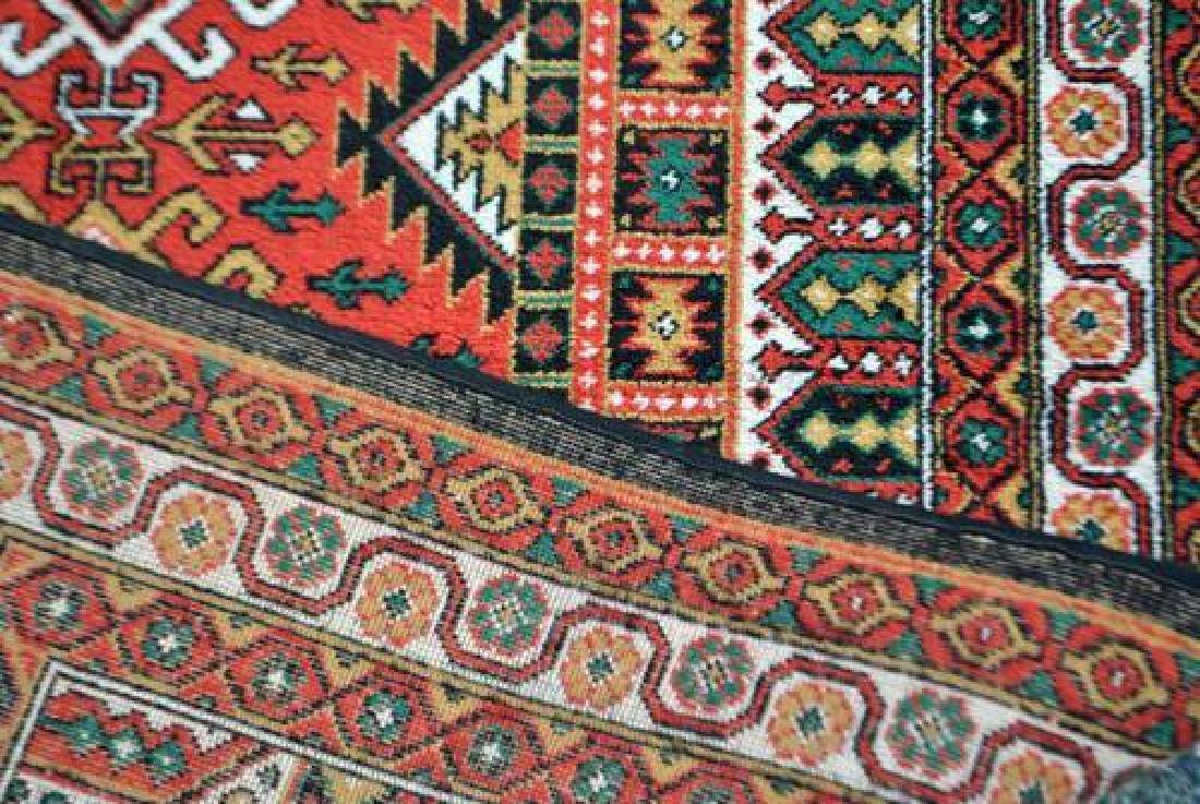 Bold Hand Woven Persian Karajeh 4x6 - 4