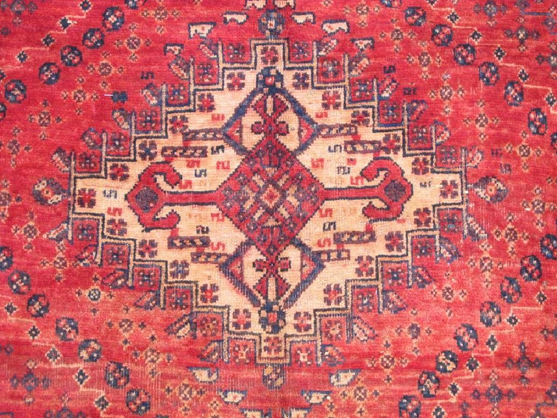 Quite Fascinating Semi Antique Wool on Wool Persian - 3