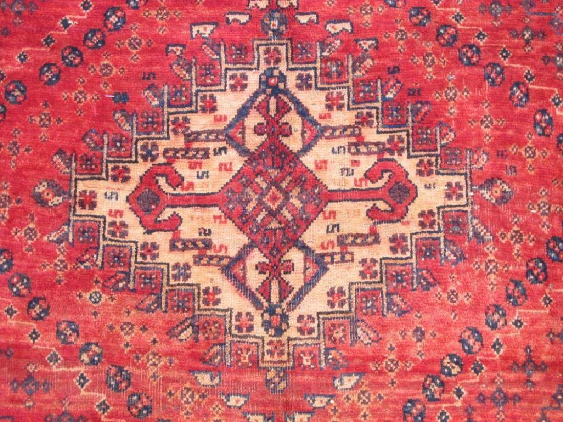Quite Fascinating Semi Antique Wool on Wool Persian - 3