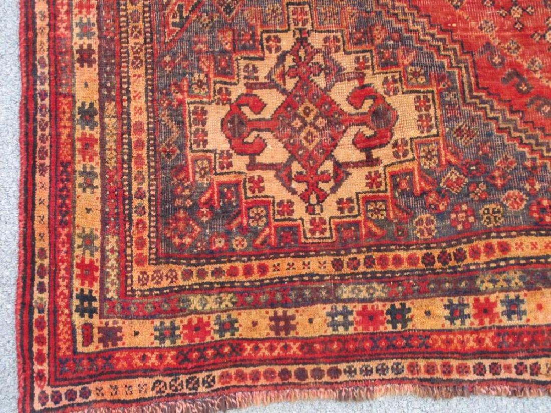 Quite Fascinating Semi Antique Wool on Wool Persian - 4