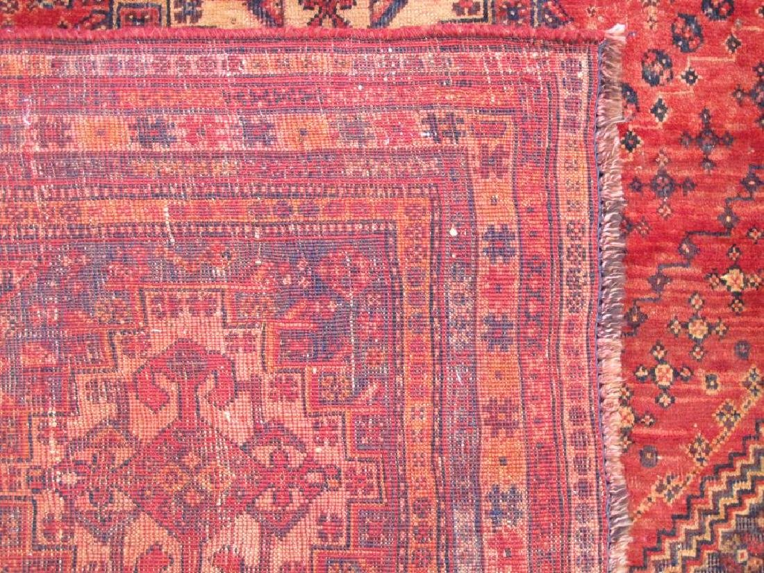 Quite Fascinating Semi Antique Wool on Wool Persian - 5