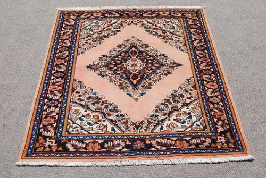Extremely Detailed Handmade Semi Antique Persian Lilian - 2