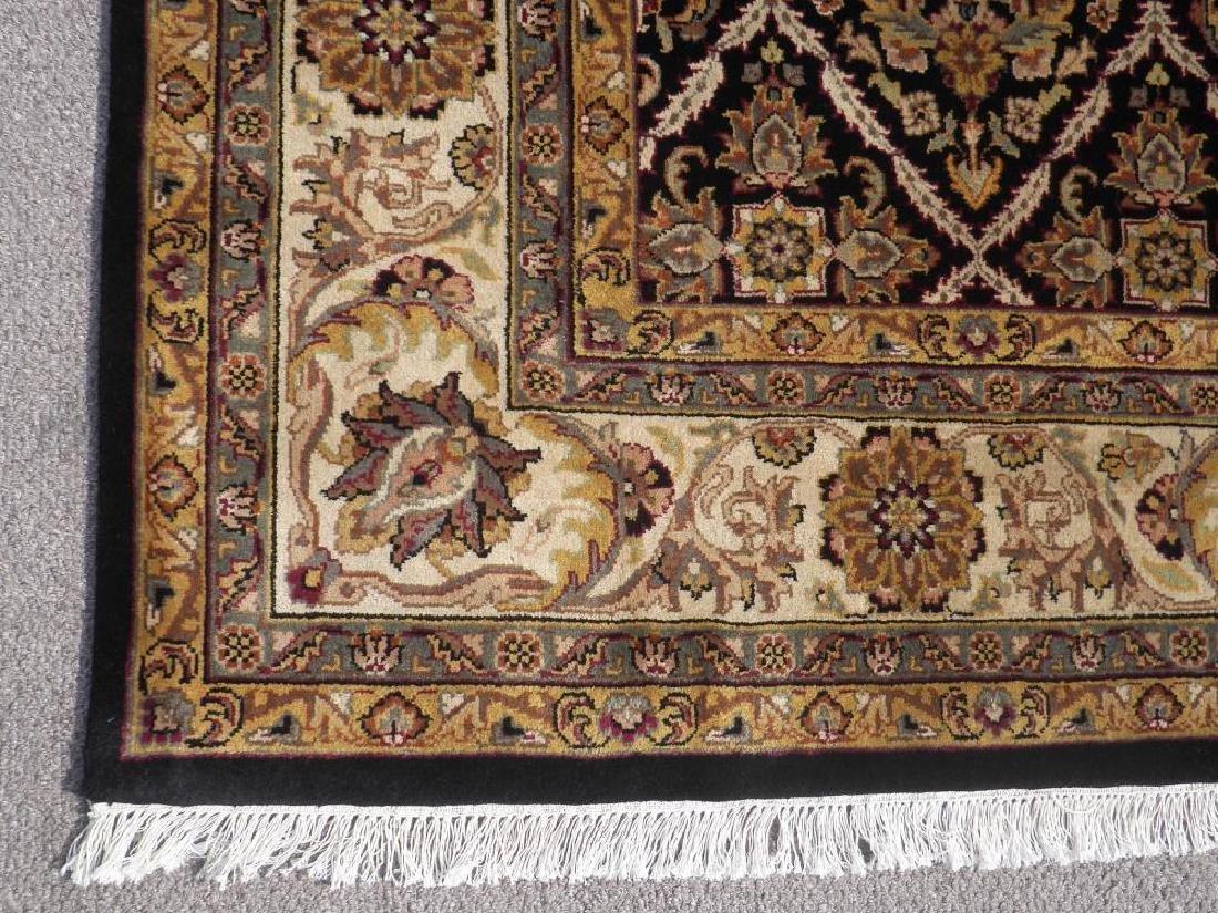 Rare Handmade Allover Floral Indo Mahal 9x12 - 4