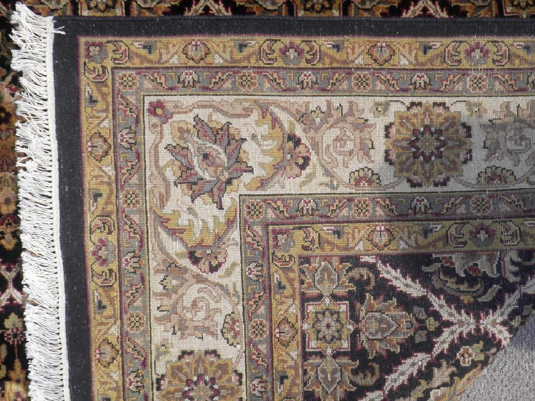Rare Handmade Allover Floral Indo Mahal 9x12 - 5