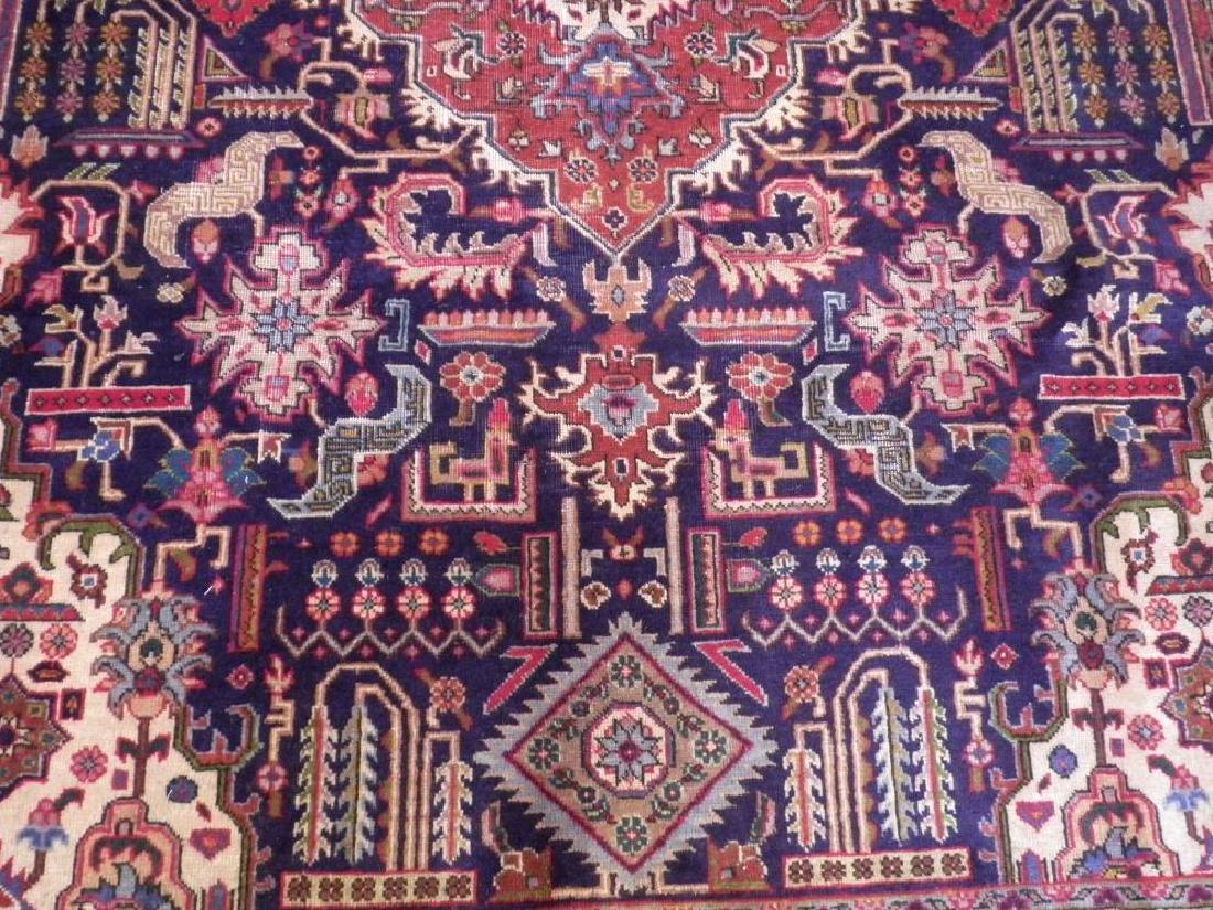 Stunning Semi Antique Geometric Persian Tabriz - 3
