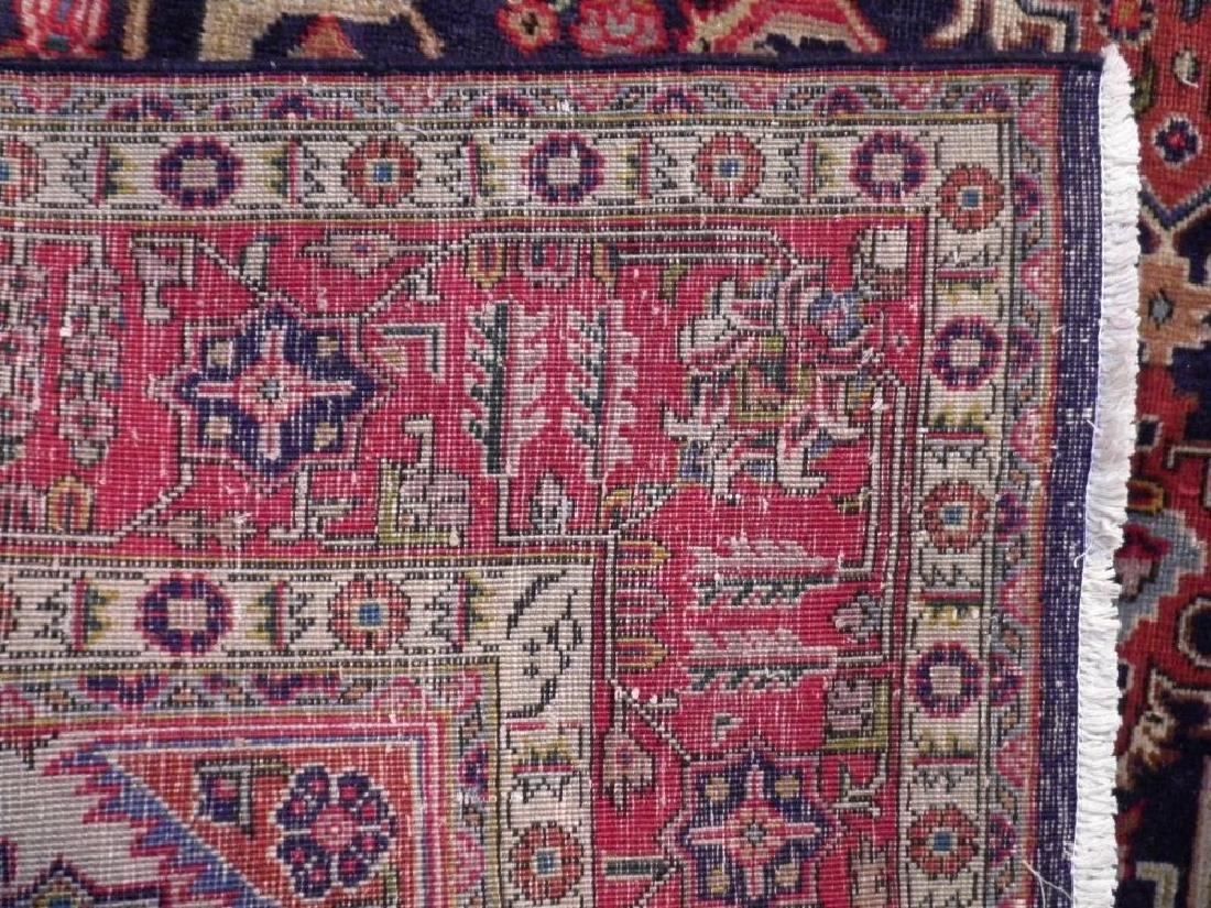 Stunning Semi Antique Geometric Persian Tabriz - 5