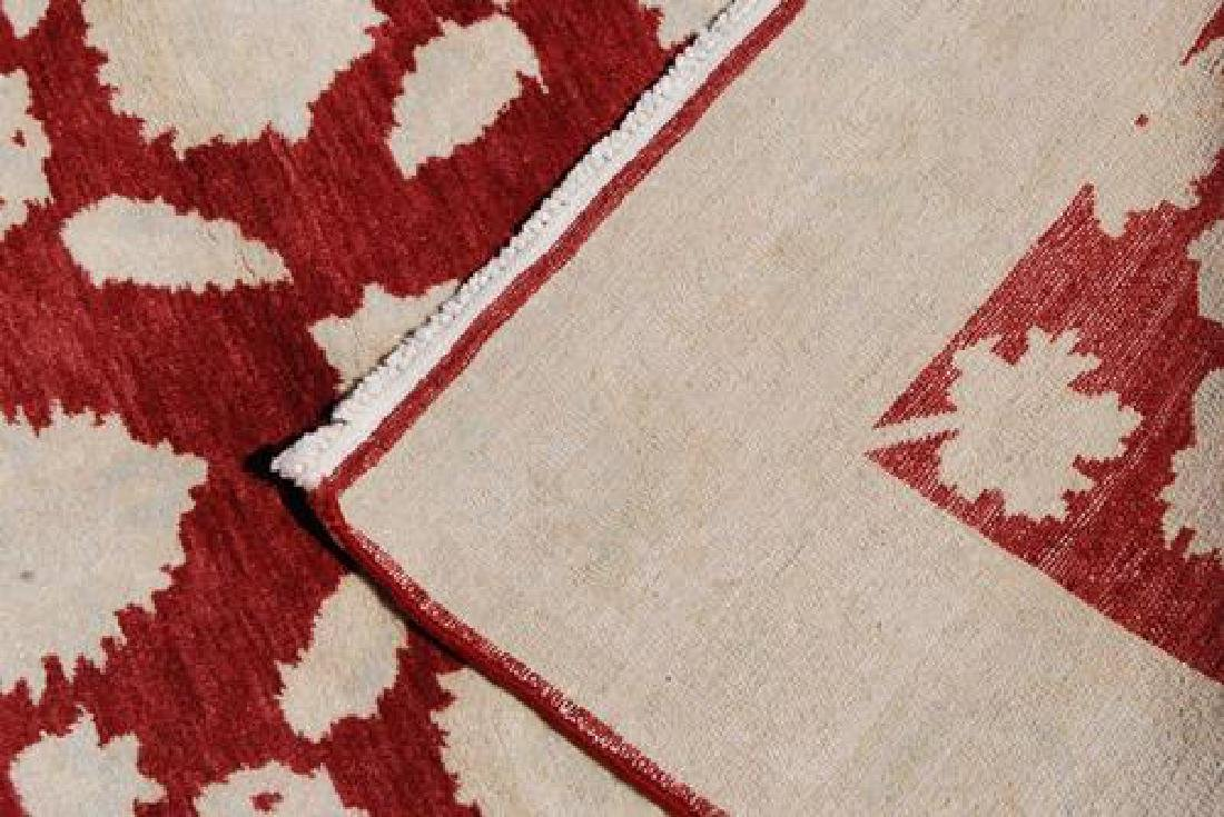 Nicely Contrasted Handmade Egyptian Rug - 4