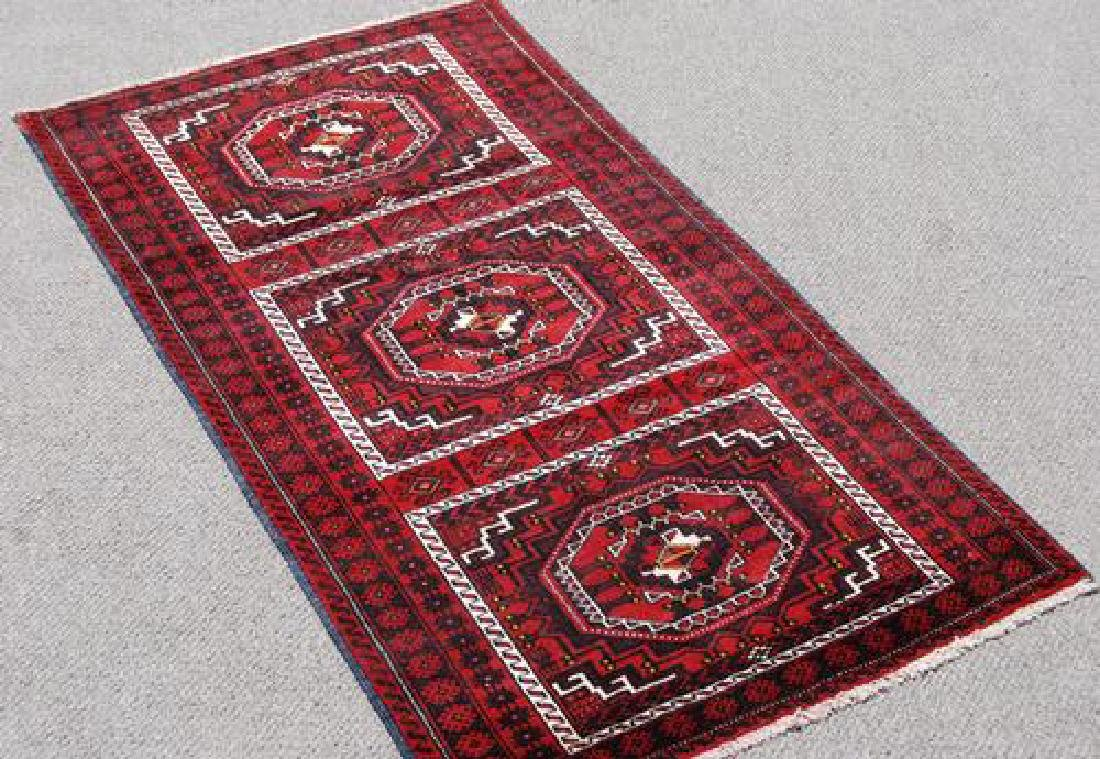 GORGEOUS HAND MADE PERSIAN TURKMAN RUG