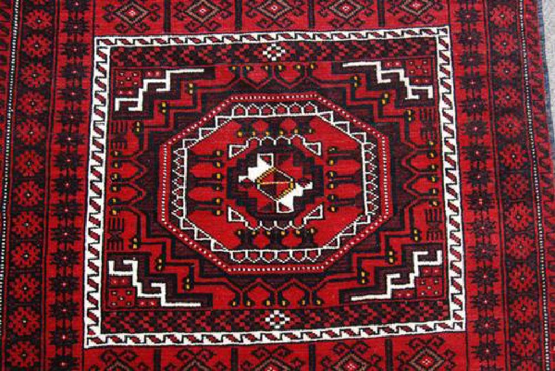 GORGEOUS HAND MADE PERSIAN TURKMAN RUG - 3