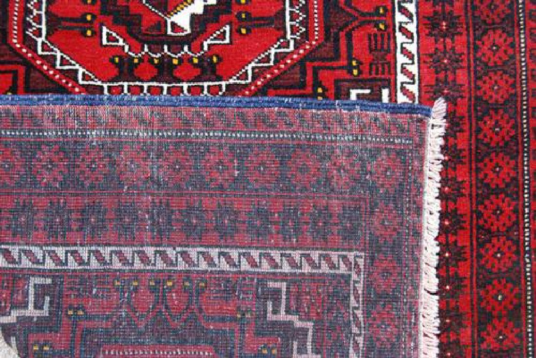GORGEOUS HAND MADE PERSIAN TURKMAN RUG - 4