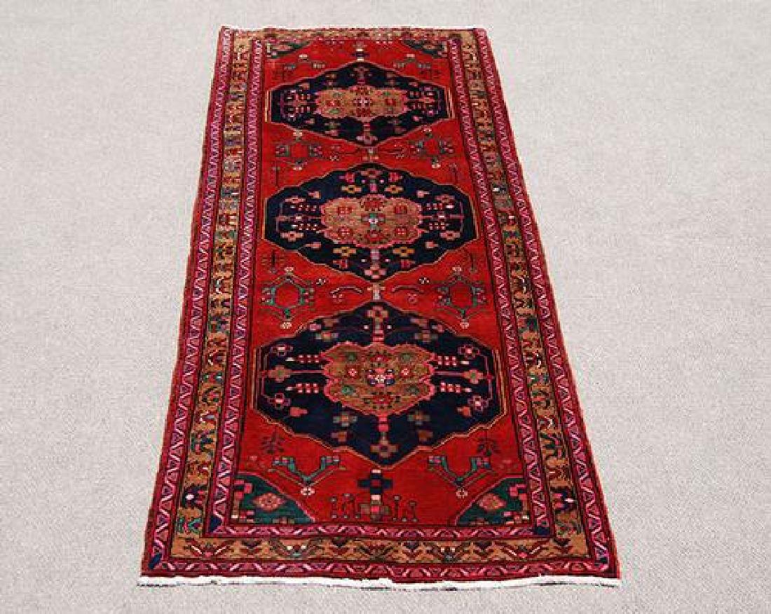 Hand Woven Fine Persian Ahar Runner 11 ft - 2