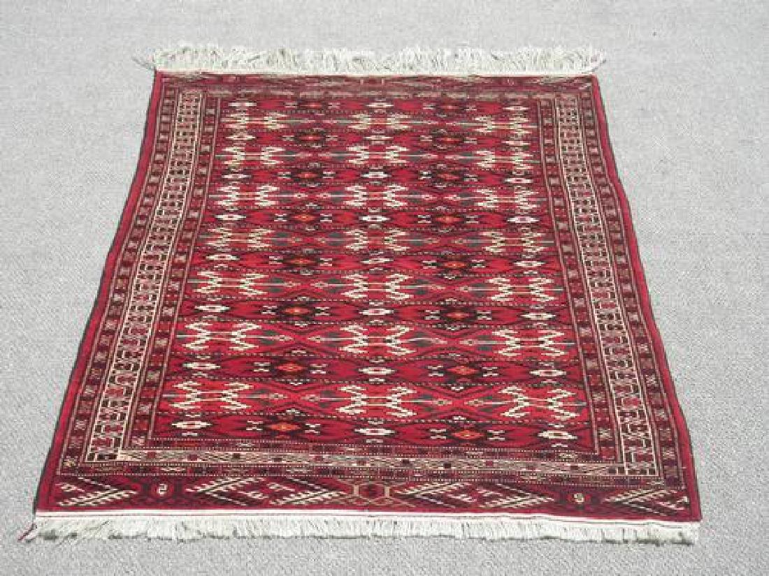 Lovely Hand Woven Persian Turkmen 4.5x6.4