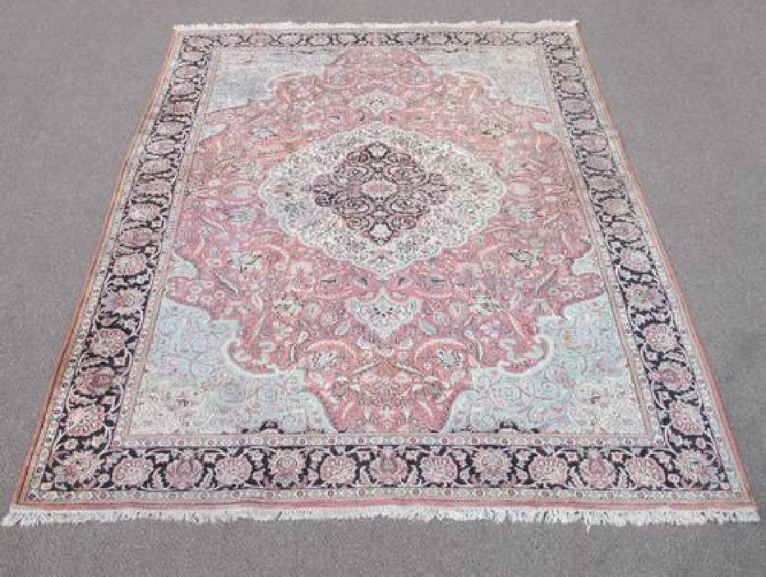 Investment Semi Antique Quality Art Silk Persian Qum