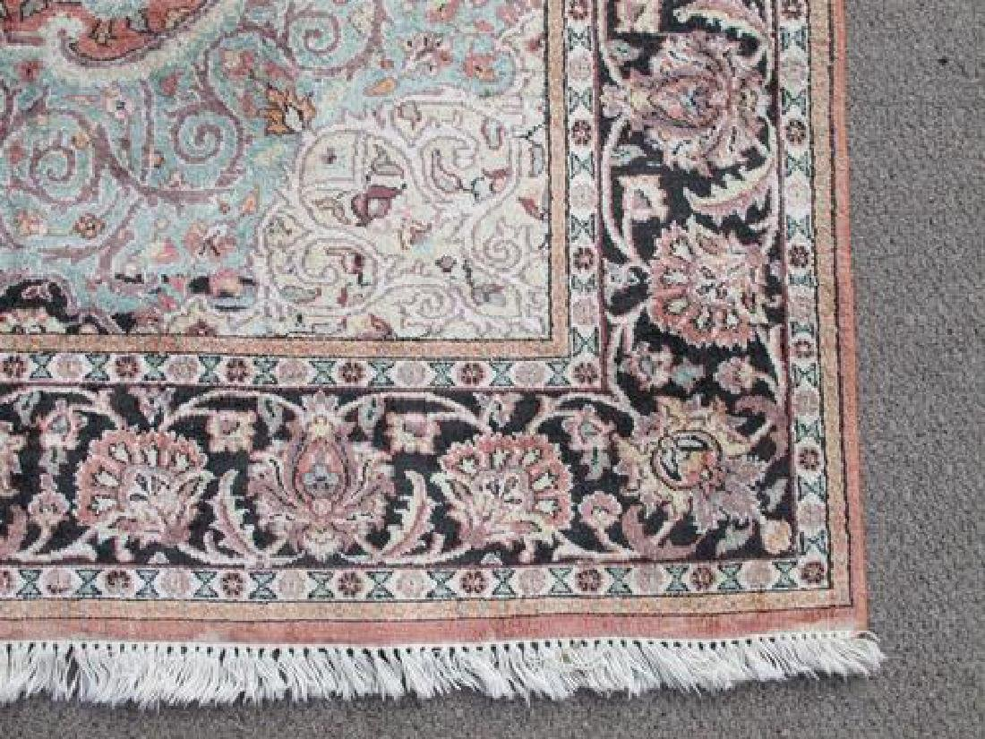 Investment Semi Antique Quality Art Silk Persian Qum - 3