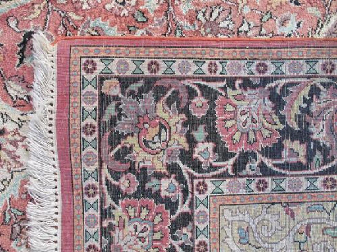 Investment Semi Antique Quality Art Silk Persian Qum - 4
