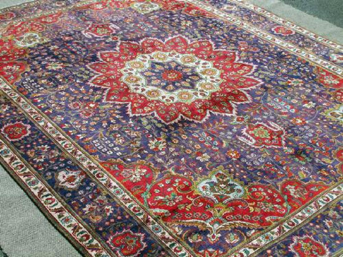 Very Rare Authentic Persian Mashhad Rug 13x10 - 2