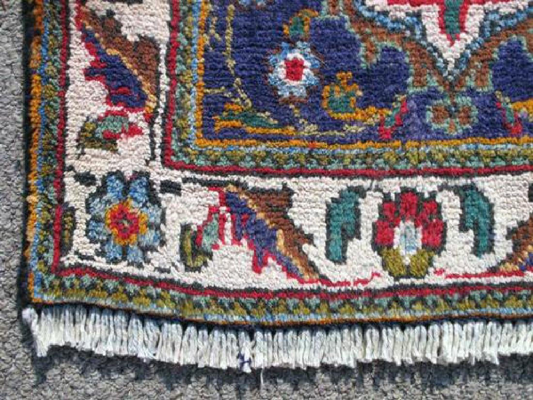 Very Rare Authentic Persian Mashhad Rug 13x10 - 3
