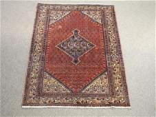 Gorgeously Designed Semi Antique Persian Sarouk Mir 4x5