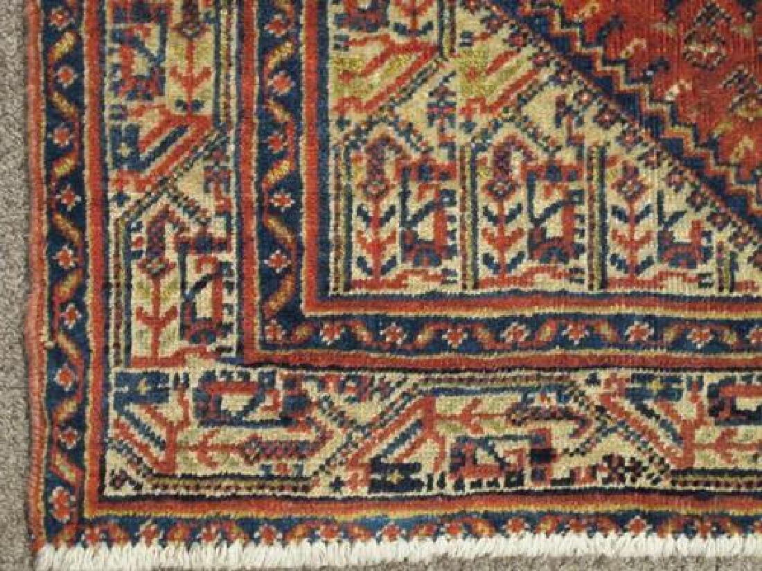 Gorgeously Designed Semi Antique Persian Sarouk Mir 4x5 - 3