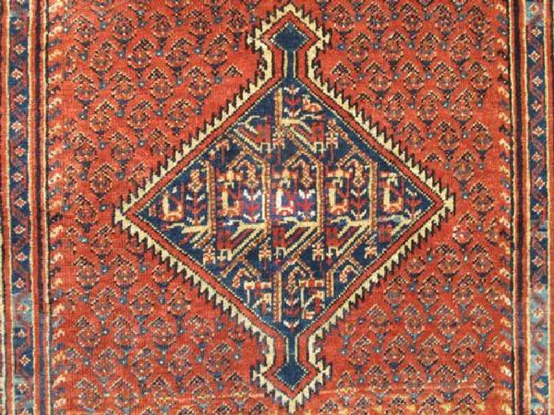 Gorgeously Designed Semi Antique Persian Sarouk Mir 4x5 - 4