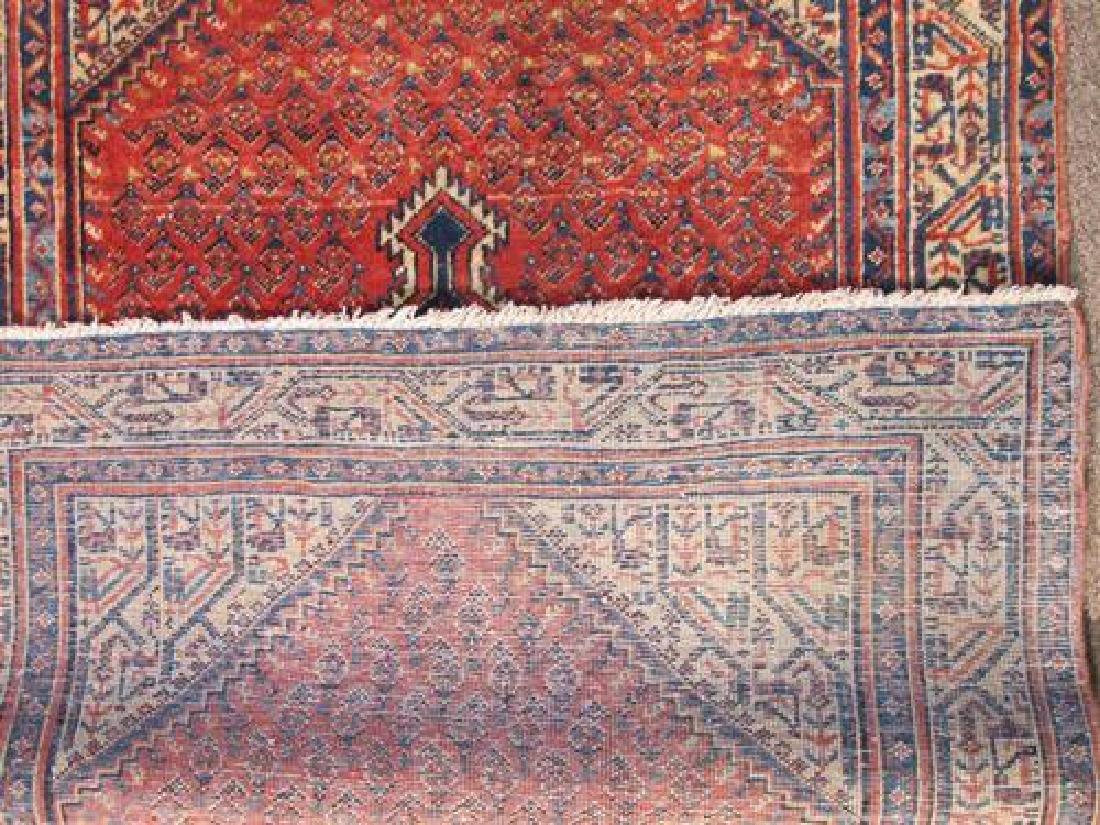 Gorgeously Designed Semi Antique Persian Sarouk Mir 4x5 - 5