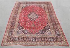 Fascinating Semi Antique Persian Kashan 12.8x9.5