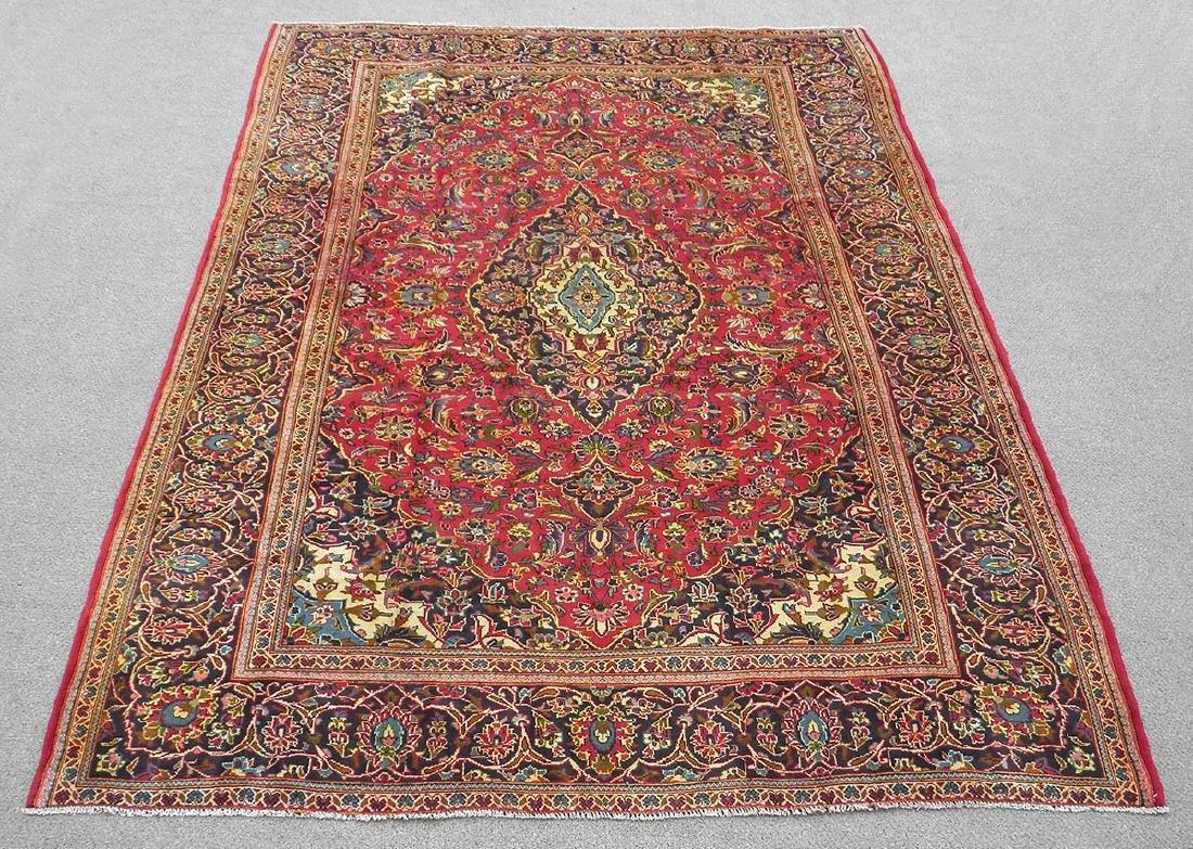 Collectible Semi Antique Persian Kashan 8.0x11.5