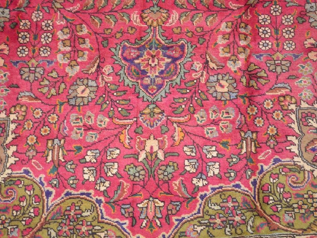 Detailed Semi Antique Persian Tabriz 10.6x8.2 - 4