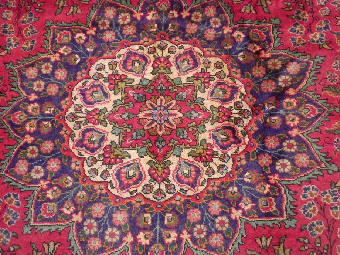 Detailed Semi Antique Persian Tabriz 10.6x8.2 - 5
