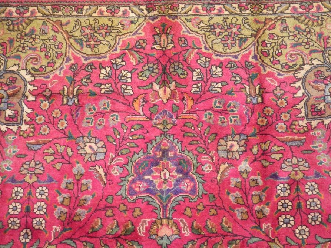 Detailed Semi Antique Persian Tabriz 10.6x8.2 - 6