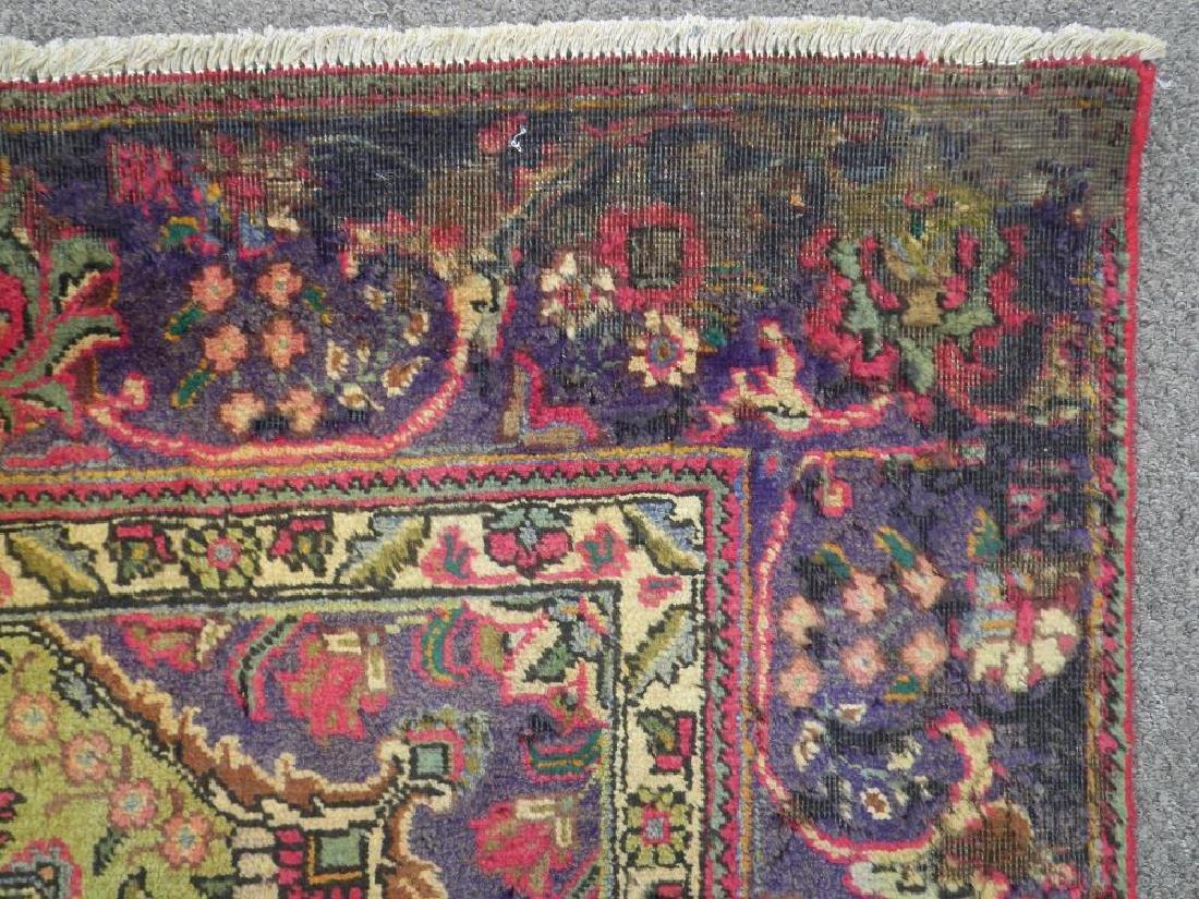 Detailed Semi Antique Persian Tabriz 10.6x8.2 - 7